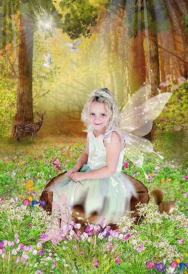 Fantasy & Fairytale Portraits - 'Woodland Clearing'