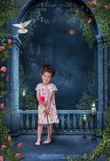 Fantasy & Fairytale Portraits - 'Romantic Castle'