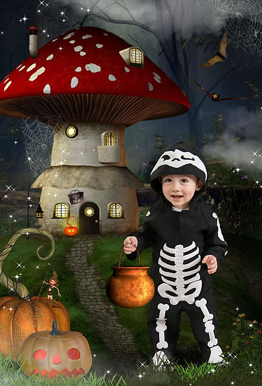 Fantasy & Fairytale Portraits - 'Smashing Pumpkins'