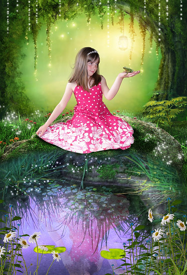 Fantasy & Fairytale Portraits - 'The Princess And The Frog'