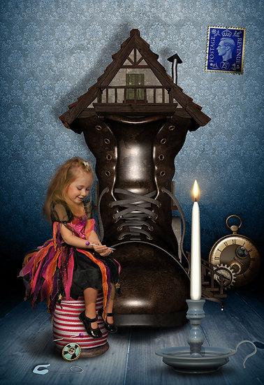 Fantasy & Fairytale Portraits - 'The Borrower'