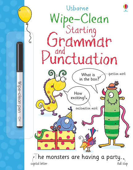 Wipe Clean Starting Grammar and Punctuation