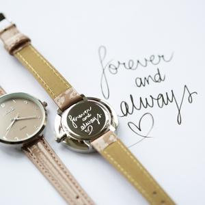 Own Handwriting Anaii Watch in Sandstone 1