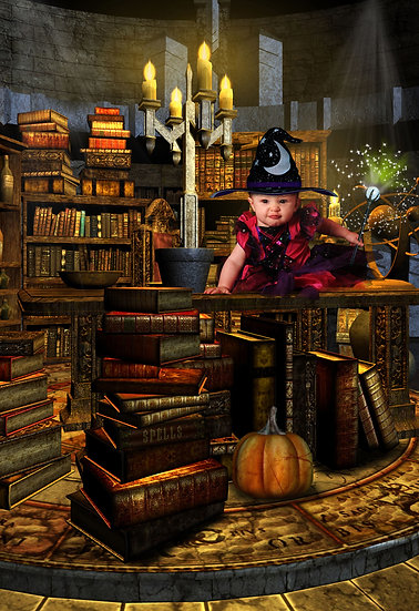 Fantasy & Fairytale Portraits - 'Wizards Workshop'