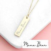 personalised-handwriting-bar-necklace-pe