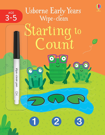 Early Years Wipe-Clean Starting to Count