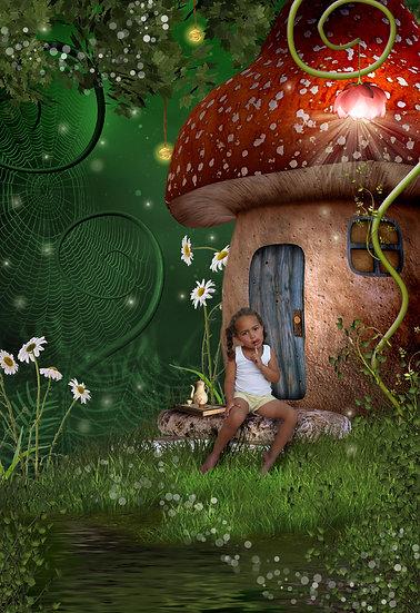 Fantasy & Fairytale Portraits - 'Secret Cottage'