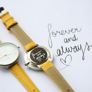 Own Handwriting Anaii Watch in Yellow 1