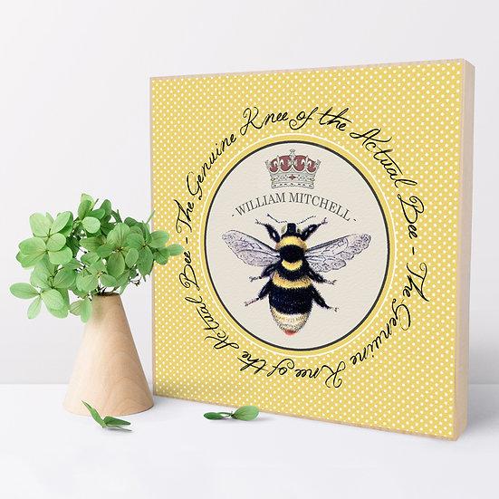 Personalised 'Bees Knees' Picture Blocks