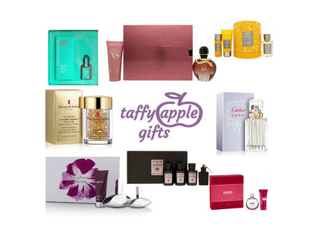 TOP BRANDS - FREE DELIVERY - GREAT PRICES.  Fragrance, Skincare & Beauty - Taffy Apple Gifts