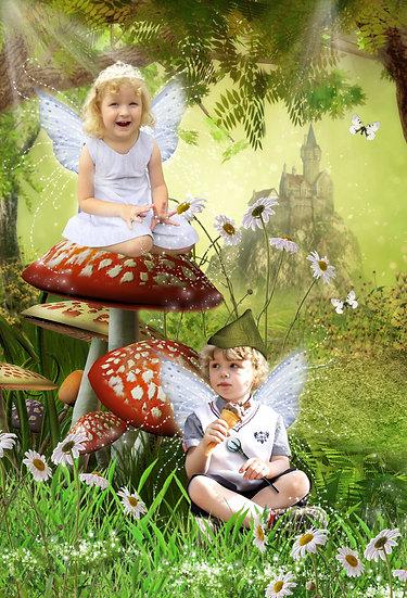 Fantasy & Fairytale Portraits - 'Forest Kingdom'