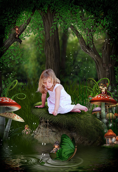 Fantasy & Fairytale Portraits - 'Fairy Hollow'