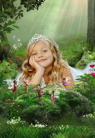 Fantasy & Fairytale Portraits - 'Cottingley Fairies' 1