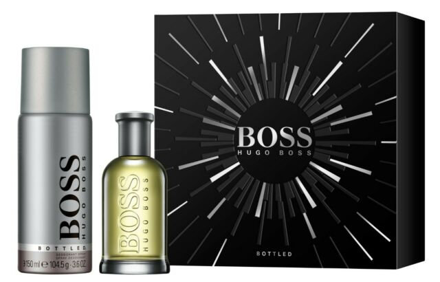 Hugo Boss Boss Bottled Gift Set 50ml EDT + 150ml Deodorant Spray