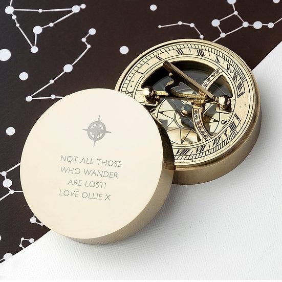 Iconic Adventurer's Sundial Compass 1