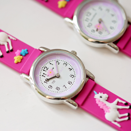 Personalised Kids Unicorn Watch 1st Image