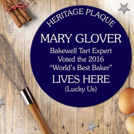Personalised Heritage Blue Plaques