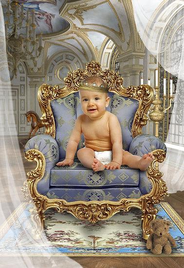 Fantasy & Fairytale Portraits - 'Royal Baby'
