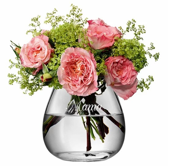Personalised Bouquet Vase