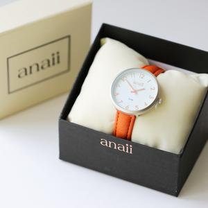 Personalised Anaii Watch in Blush Red 1