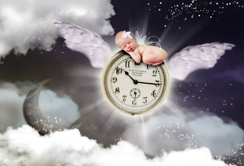 Fantasy & Fairytale Portraits - 'Time Flies'