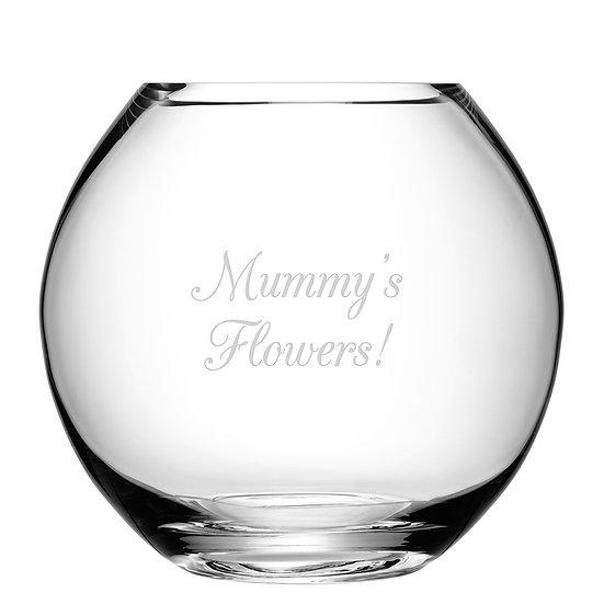 Personalised Round Vase image 1
