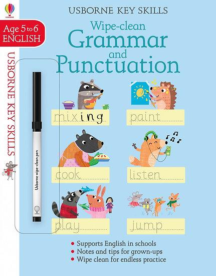 Wipe-clean Grammar & Punctuation 5-6