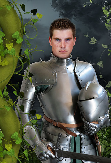 Fantasy & Fairytale Portraits - 'Knight in Shining Armour'