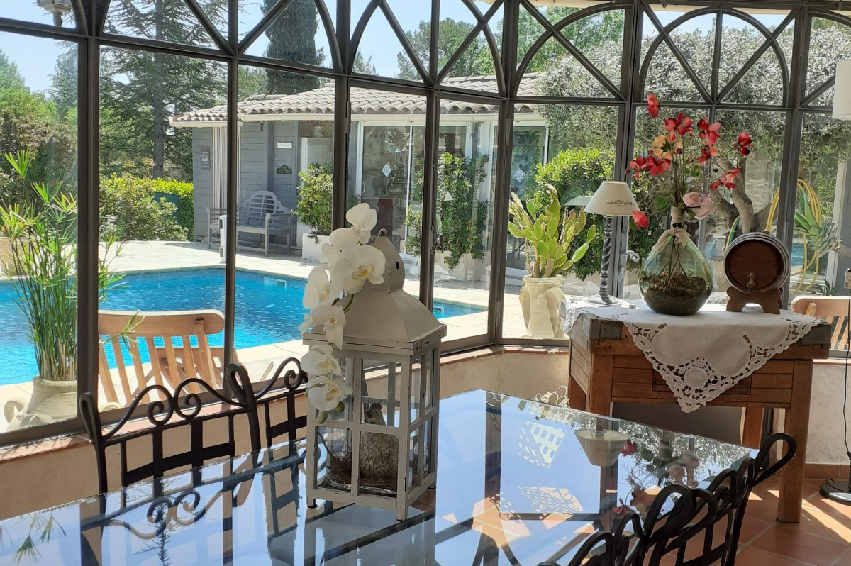 chambre d'hote en provence avec piscine