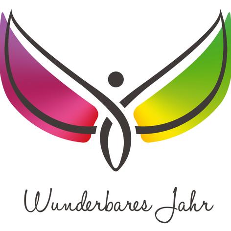 """Logo """"Wunderbares Jahr"""""""
