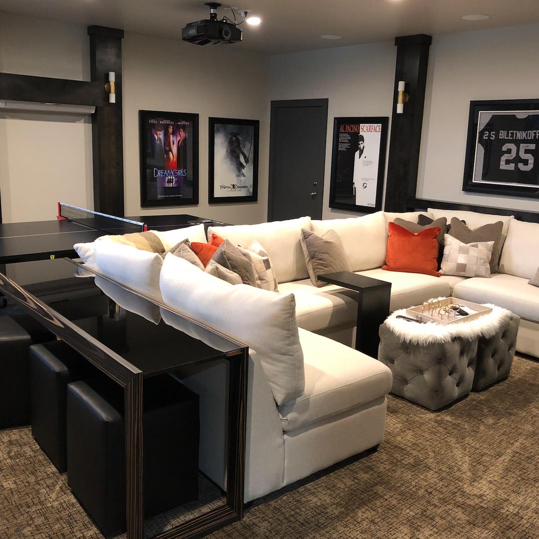 Media Room Game Room