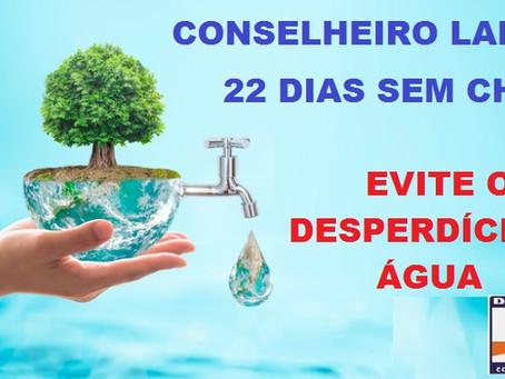 Evite o desperdício de água!!!!!