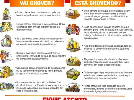 PROTEJA-SE DOS PERIGOS DA CHUVA