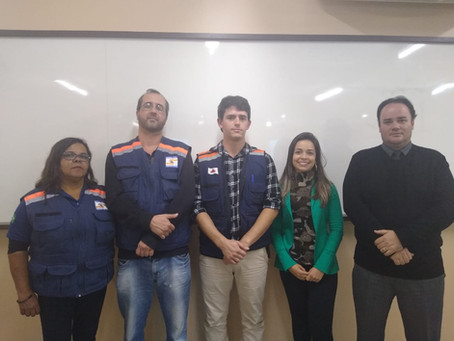 Defesa Civil realiza palestra para alunos de Engenharia Civil