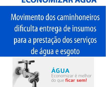 Economia de água