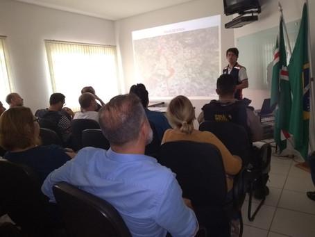 Defesa Civil Municipal reúne secretariado e divulga o Plano de Contingência para o período chuvoso.