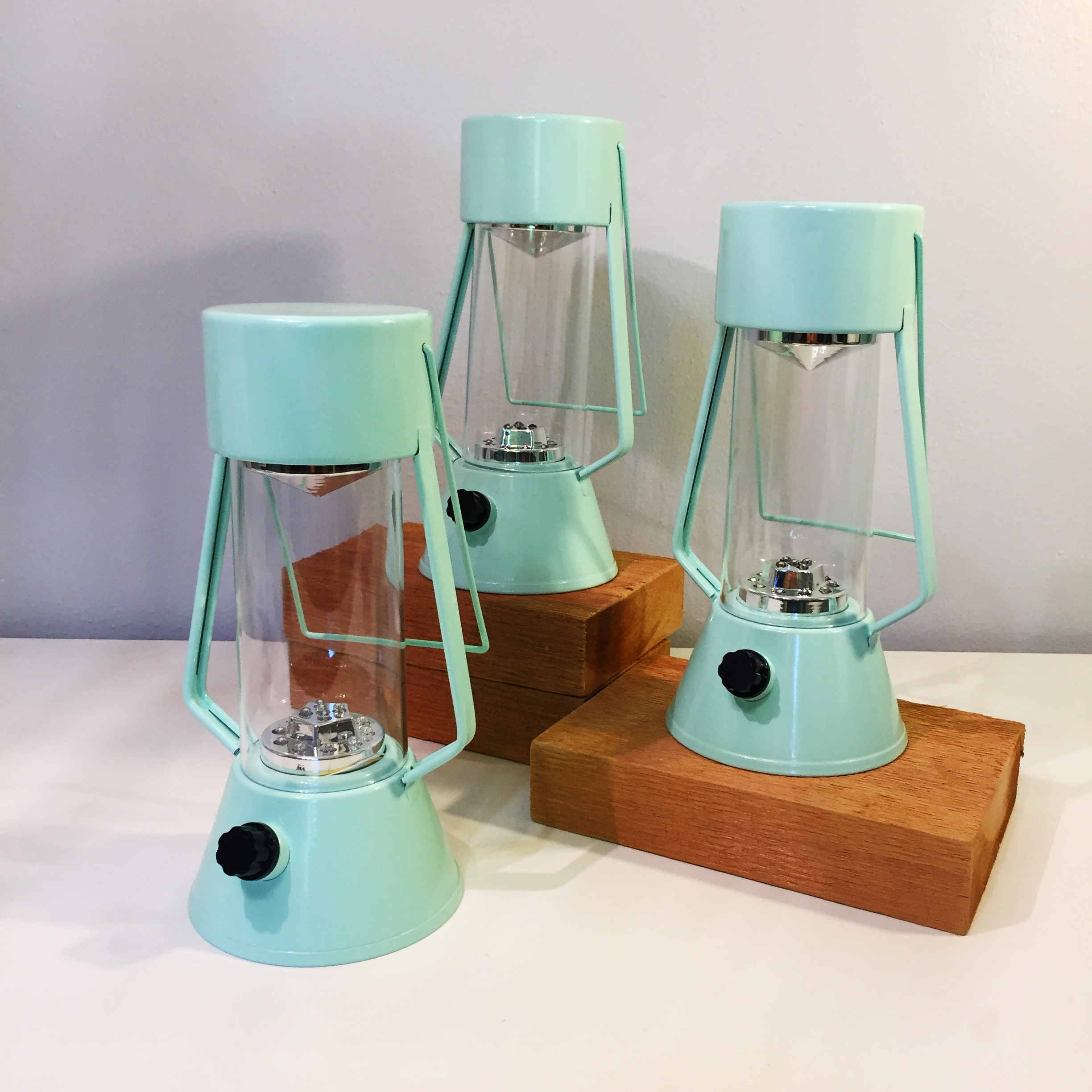 Metal Mint Lanterns