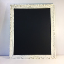 Antique White Chalkboard Frame