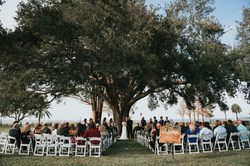 Simple Ceremony at Tanner Hall