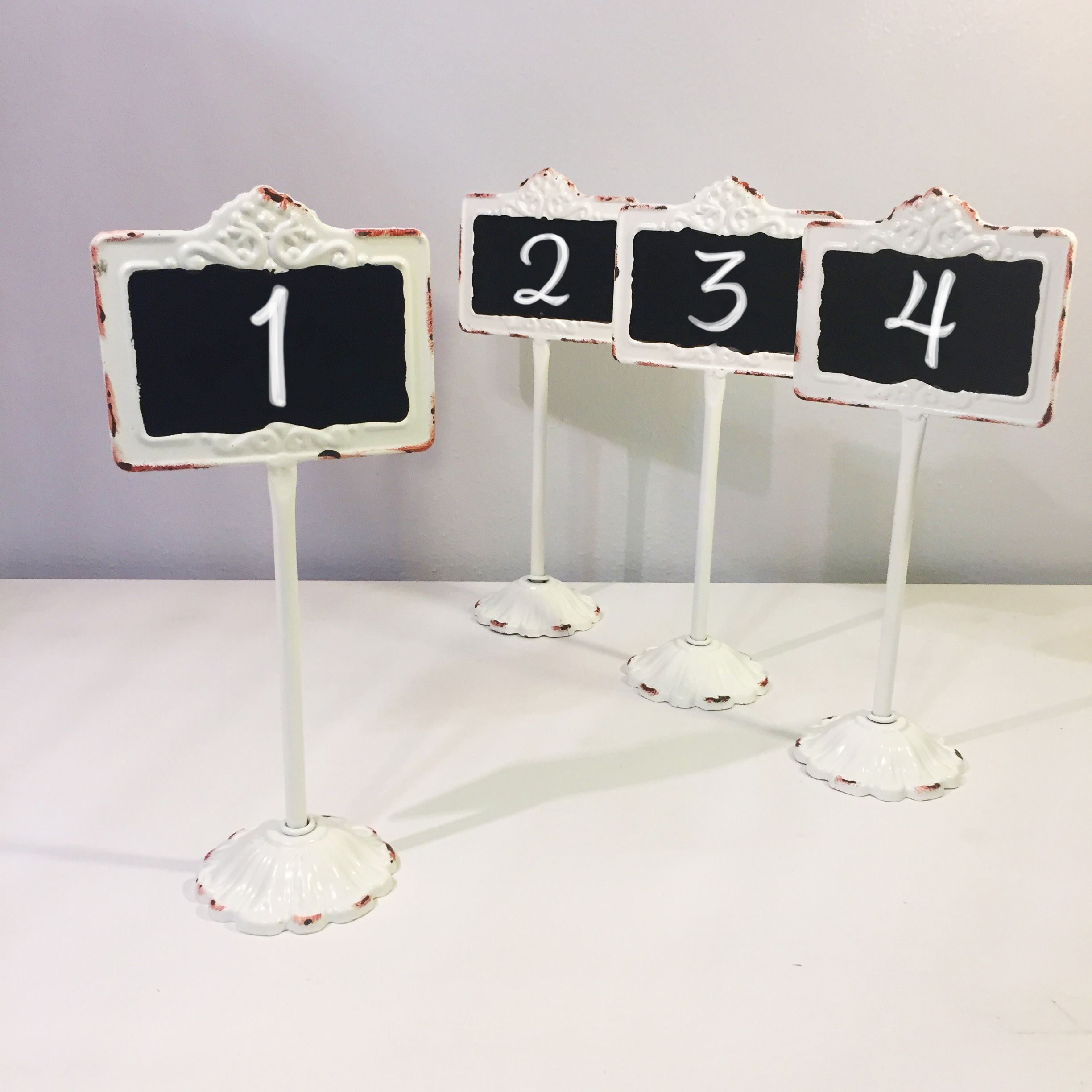 Long-Stem Table Numbers