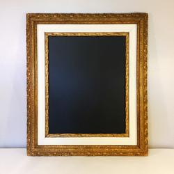 Antique Gold Chalkboard Frame