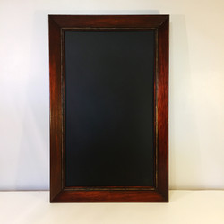Antique Wood Chalkboard Frame
