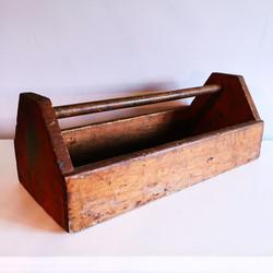 Antique Wood Toolbox