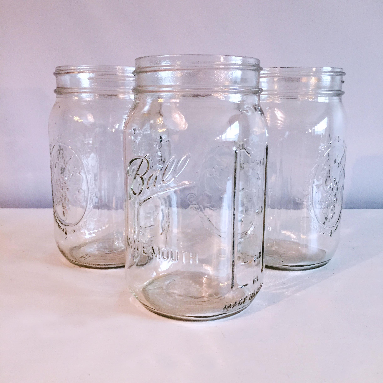 Large Mason Jars