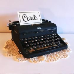 Antique 40s Royal Typewriter