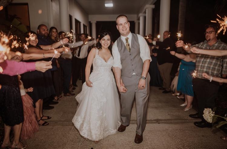 Congrats Mr. & Mrs. Lardie!
