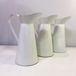 Antique White French Vase