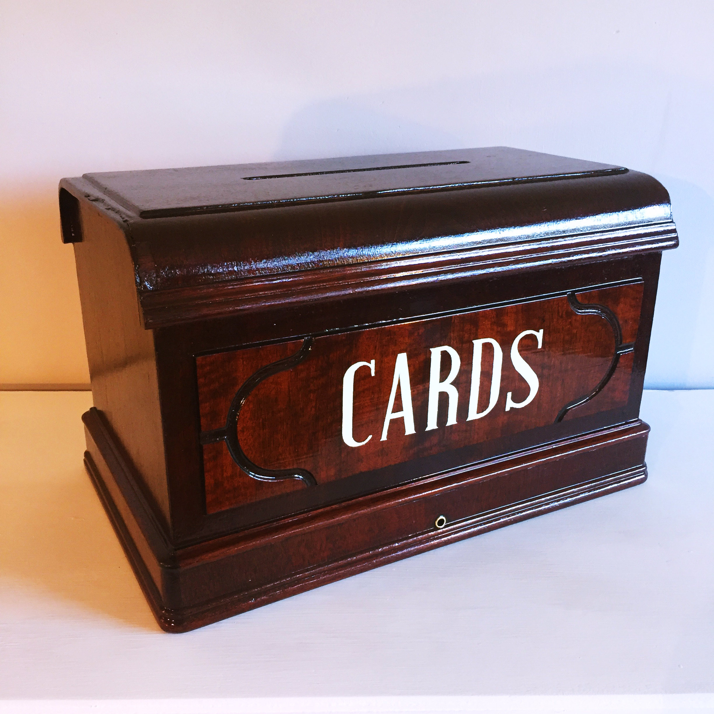 Antique Cards Box