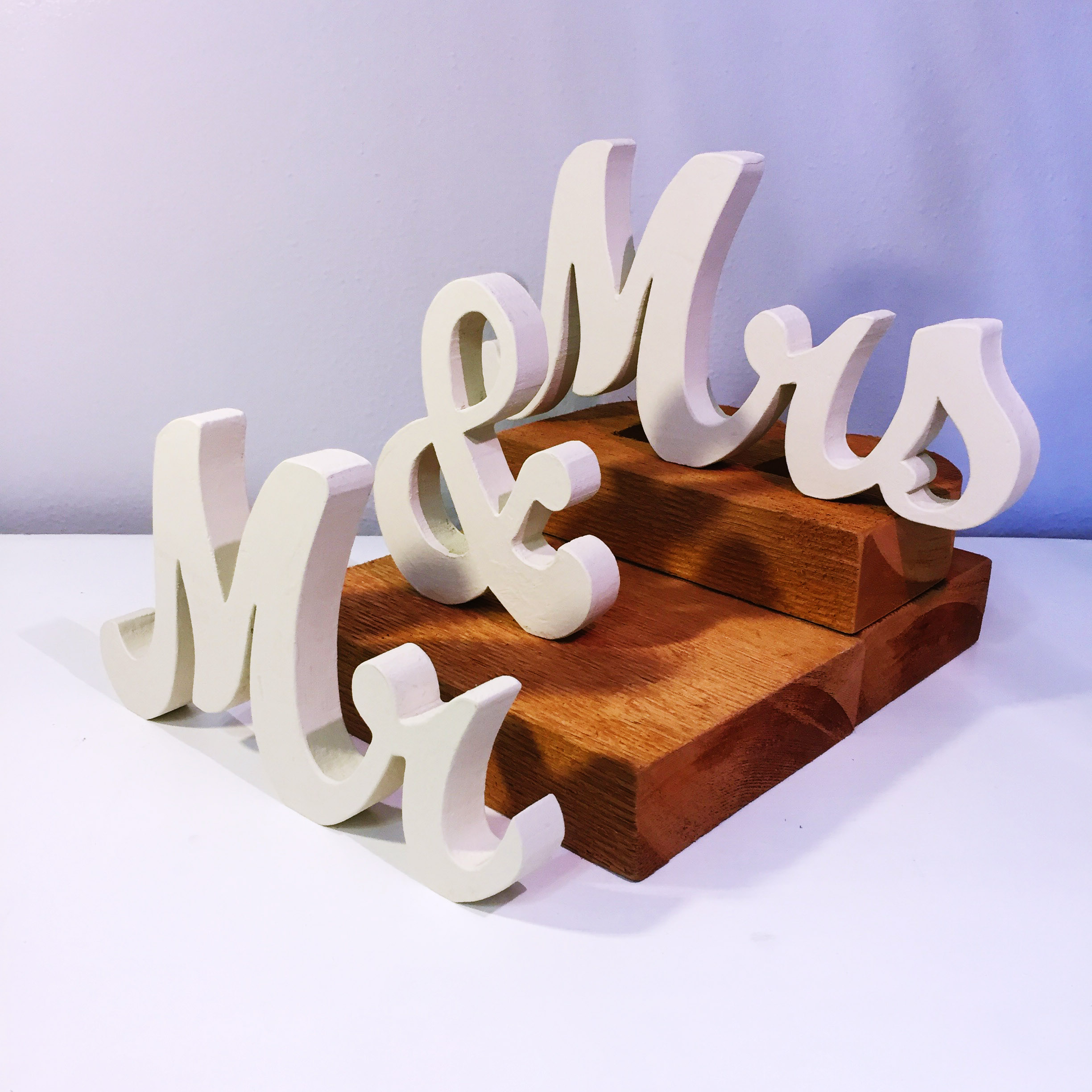 Mr & Mrs Table Decor