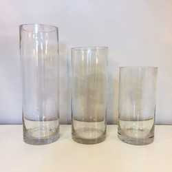 Hurricane Vase Set